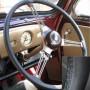 Austin Healey black Leather Steering Wheel Cover
