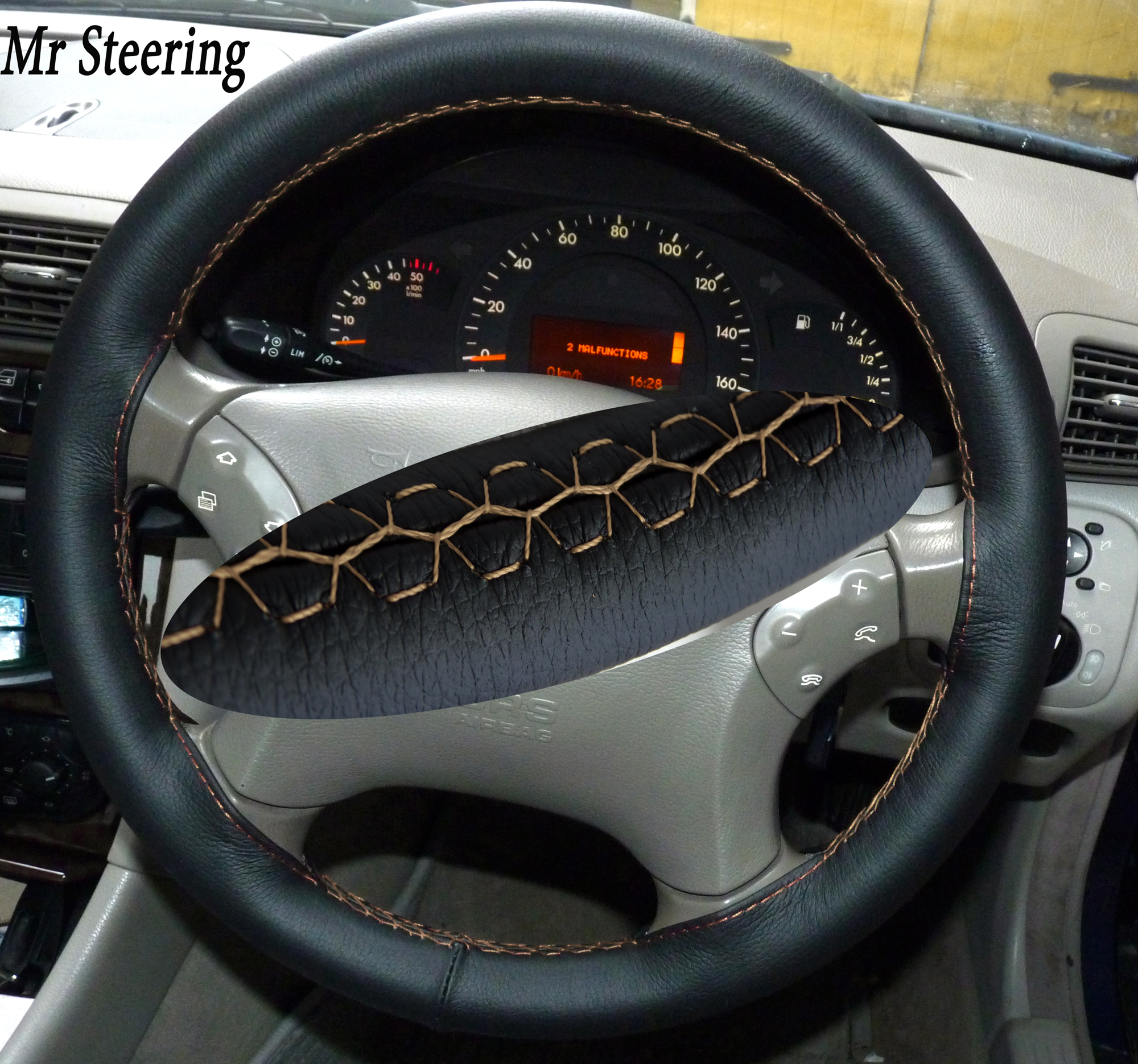 how to clean your leather steering wheel